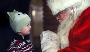 Manor Walks' Santa's Grotto - open weekends between now and the big day!