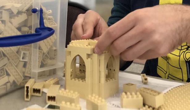Three days of brick-building fun at Manor Walks