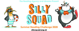 Silly Squad summer reading challenge with Northumberland Libraries